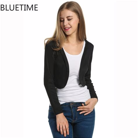 Cardigan Basic Wanita Hitam by Womens Cropped Cardigan Promotion Shop For Promotional