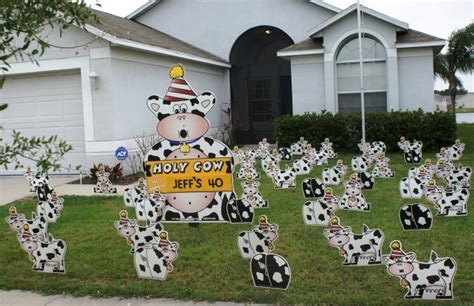 Yard Decorations For Birthday by Birthday Yard Flocking Decorations Ta Fl Call