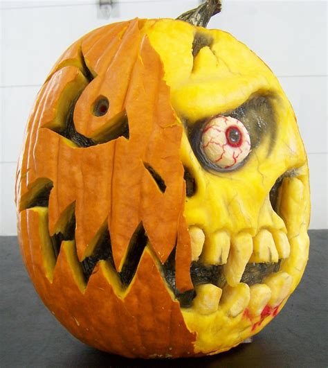 how to carve a 3 d pumpkin scottiedtv coolest cars on the web