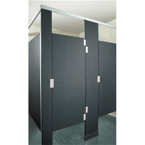 solid plastic bathroom partitions solid plastic toilet partitions headrail braced hadrian