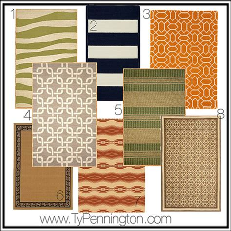 Custom Outdoor Rugs Diy Design Custom Outdoor Rug Ty Pennington