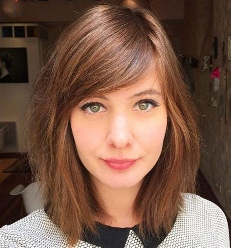 should you use razor cuts with hair best 25 medium hairstyles with bangs ideas on pinterest