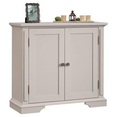 fully assembled dvd cabinet grange 2 door accent storage cabinet cobblestone