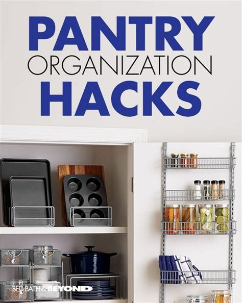 Pantry Hack by Pantry Organization Hacks Store Small Items In An