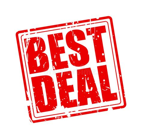 best deals best deal st text stock vector illustration of