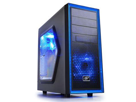 Casing Computer Pc Psu Gamemax Atx G506 deepcool tesseract sw bk atx blue led midi