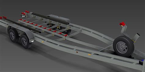 rc boat trailer for catamaran boat trailer trailer plans