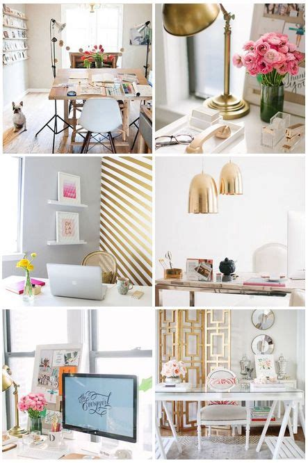 chic office decor i like this shabby chic home office as it looks