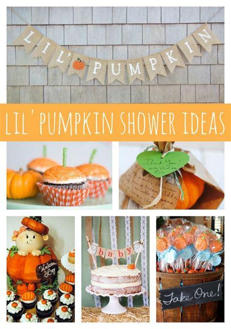 Lil Pumpkin Baby Shower Theme by 21 Pumpkin Baby Shower Ideas Pretty My