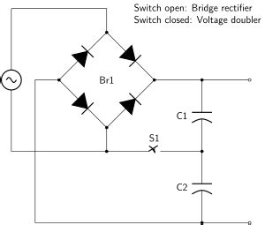 use of capacitor in rectifier rectifier