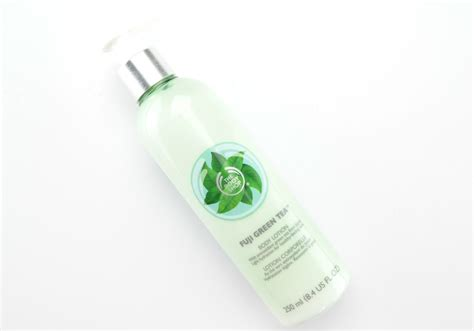 Fuji Green Tea Lotion 250ml the shop fiji green tea collection review