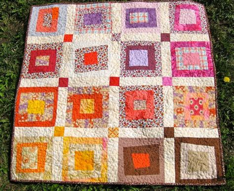 you to see wonky log cabin quilt by teresadownunder