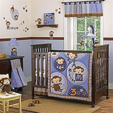 monkey nursery bedding cocalo monkey mania 8 piece crib bedding set traditional