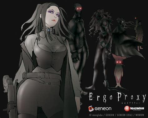 ergo proxy anime doujinshi of perez egalitarian and feminist themes in