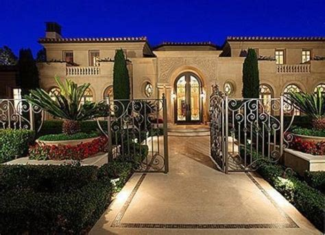 mediterranean luxury mansion