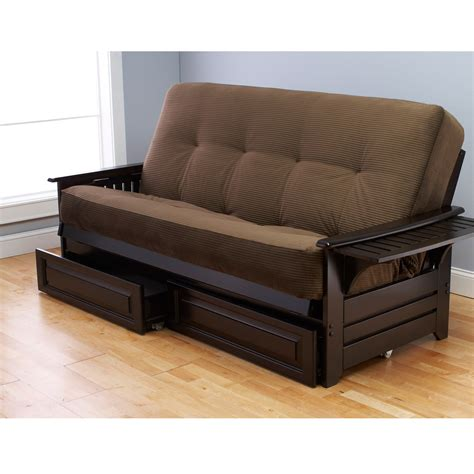 futon with storage most comfortable futons homesfeed