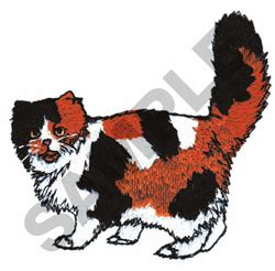 Sarung Bantal Jumbo Size Calico 2 Pcs cats embroidery design calico from great notions