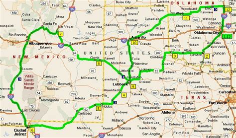 road map of texas and oklahoma okroads roadtrips west texas roadtrip