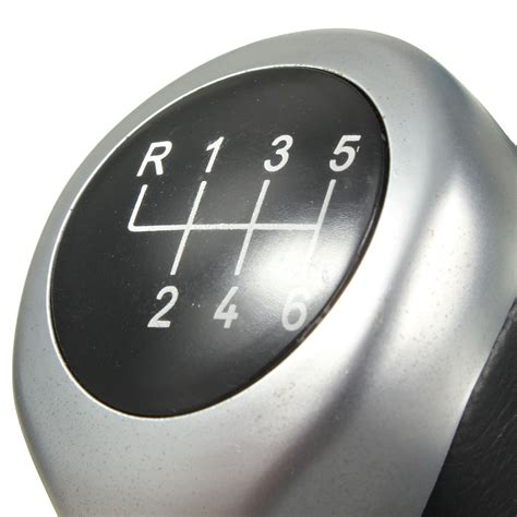 Replacement Automatic Shift Knob by Replacement Black Car 6 Speed Gear Shift Knob Shifter Knob