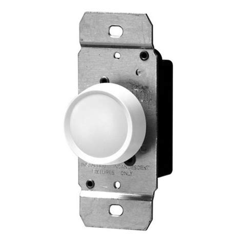 L Dimmer Walmart by Leviton Trimatron 3 Way 600w 120v Ac White Standard Rotary