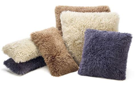 Lambskin Pillow by Fibre By Auskin Lambskin Curly Longwool Pillows