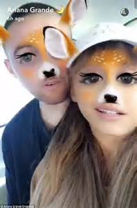 ariana grande flaunts her limbs in shirt dress while out