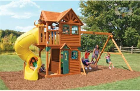 swing set costco canada costco canada get 200 off cedar summit mountainview play