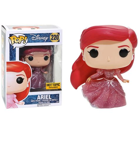 Funko Pop Vinyl Figure Topic Exclusive funko disney the mermaid pop ariel glitter vinyl figure topic exclusive 220