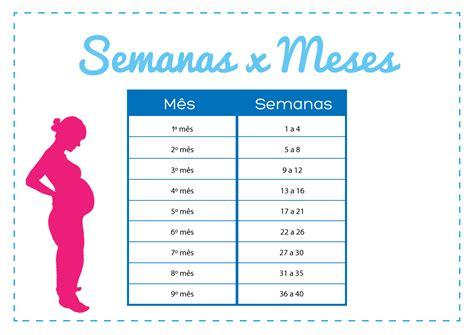 Calendario X Semana Como Contar A Gravidez Em Semanas E Meses Gravidadicas