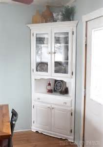 Corner Furniture Ideas by 1000 Ideas About Corner Hutch On Pinterest Corner