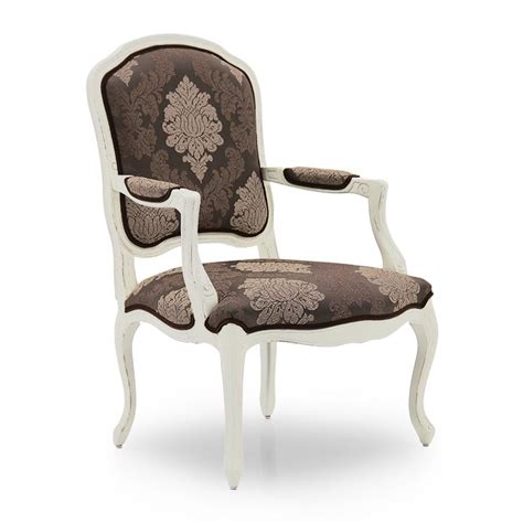 Classic Armchairs by Classic Style Armchair Made Of Wood Teseo 380 Sevensedie