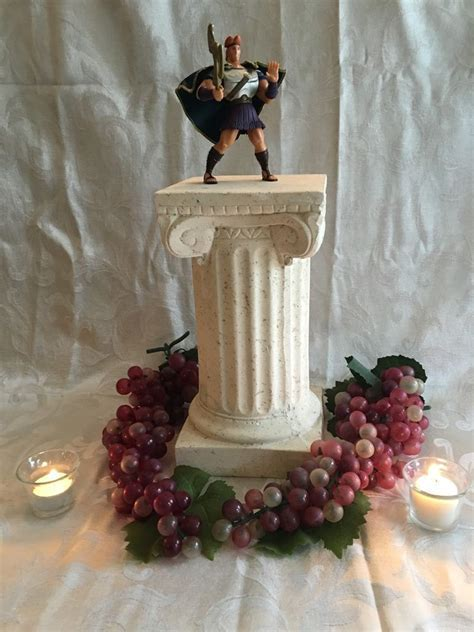 Disney Hercules Centerpiece in 2019   Disney Centerpieces