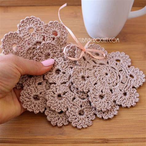 crochet for home decor 17 best images about crochet patterns coasters on