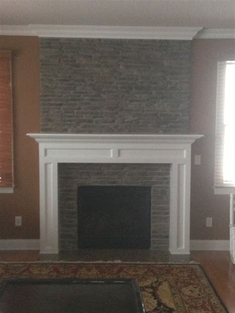custom fireplace mantel work trim