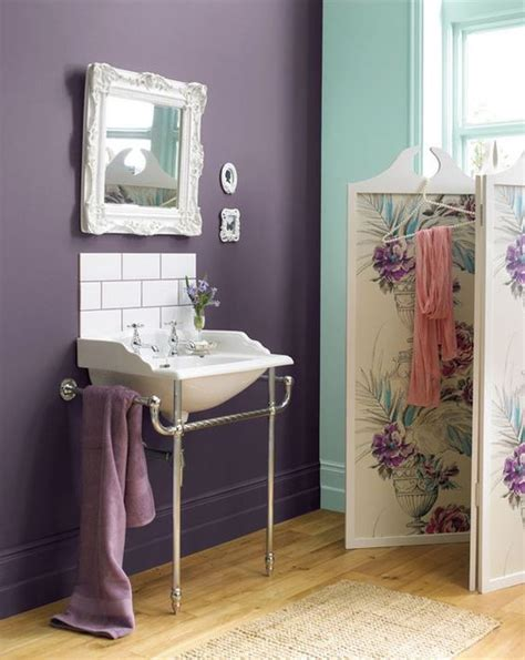 lavender bathroom walls accent colors ducks and purple colors on pinterest