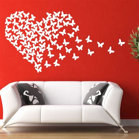 wall stickers butterfly wall sticker wall chimp uk