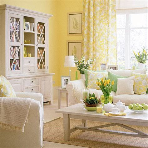 charming Living Room Center Table Decoration Ideas #3: soft-yellow-living-room-ideas.jpg