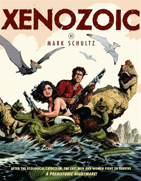 brm a mechanics tale books review xenozoic comic book daily