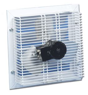 door fans to keep bugs out gft 16 through wall garage fan cool my garage