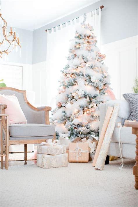 rose gold christmas lights best 25 pink christmas tree ideas on pinterest pink