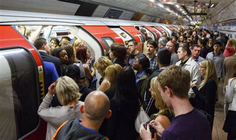 london by tube over tube and rail strikes will being misery for millions uk news express co uk