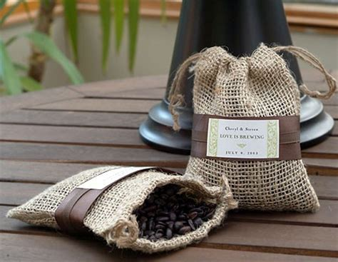 Wedding Favors Coffee by Leave An Impression To Last With Your Coffee Wedding Favors