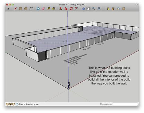 create floor plan in sketchup how to build a building starting from a floor plan in