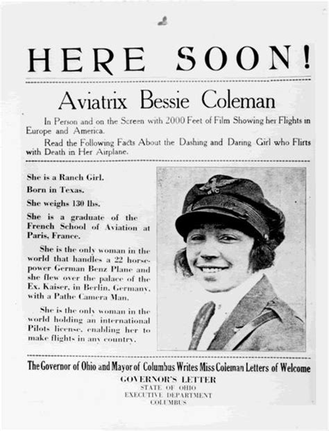 biography in spanish of bessie coleman 17 best images about bessie coleman on pinterest