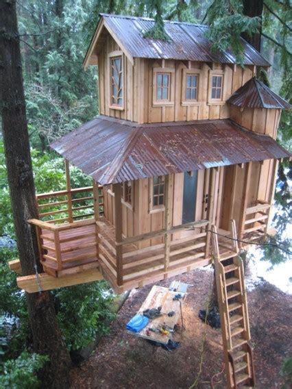 33 best images about tree houses on pinterest disney villas and resorts two story tree house seattle washington the great