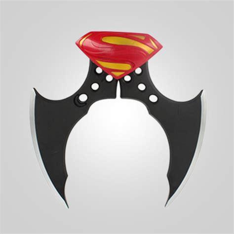 Fidget Spinner Batman Toys batman batarang fidget spinner ring alloy tri spinner adhd