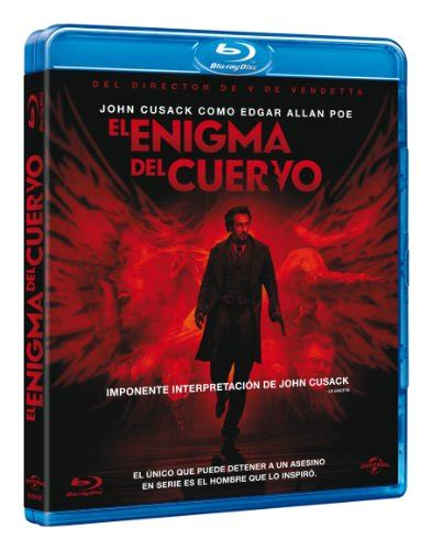 film el enigma del cuervo blu ray el enigma del cuervo the raven 2012 james mcteigue
