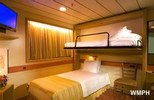 1a Cabin Carnival carnival cabin r54 category 1a interior