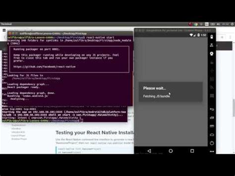 tutorial react native indonesian react native tutorial cara menginstal react native di