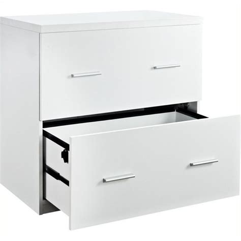 bowery hill 2 drawer lateral file cabinet in white bowery hill 2 drawer lateral file cabinet in white bh 484541